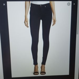 7 for all mankind Black denim skinny - size 30